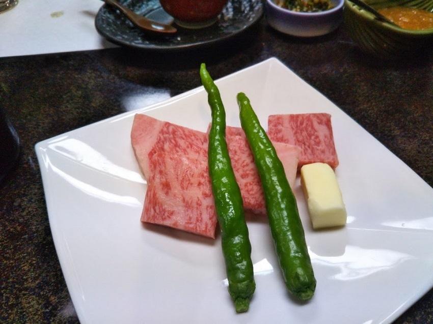 栄太郎 夕食料理 飛騨牛ステーキ(追加1人前)