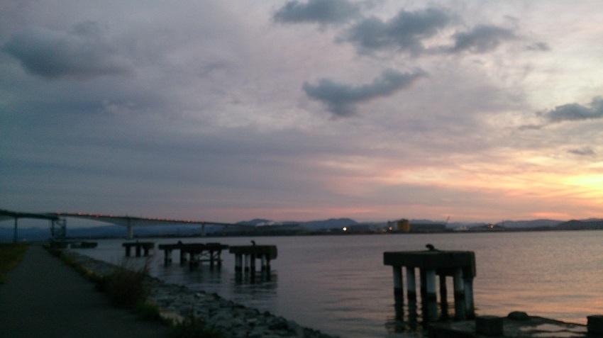 中海 夕焼け2