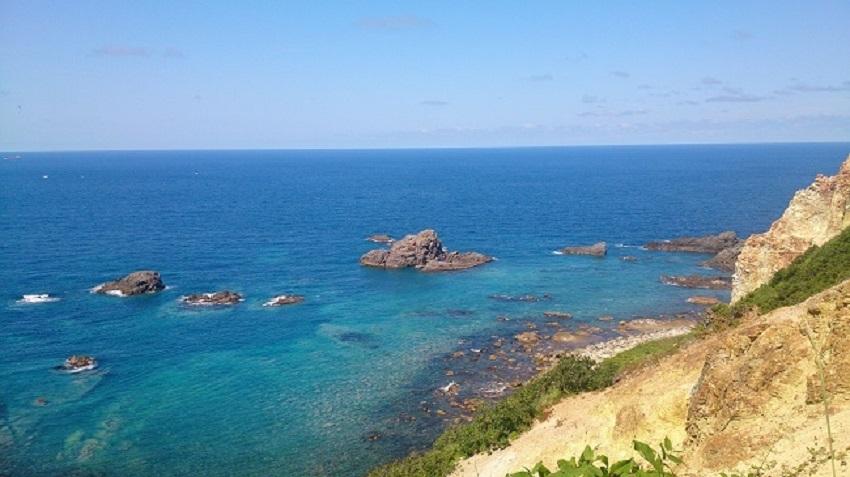 積丹半島 島武意海岸2