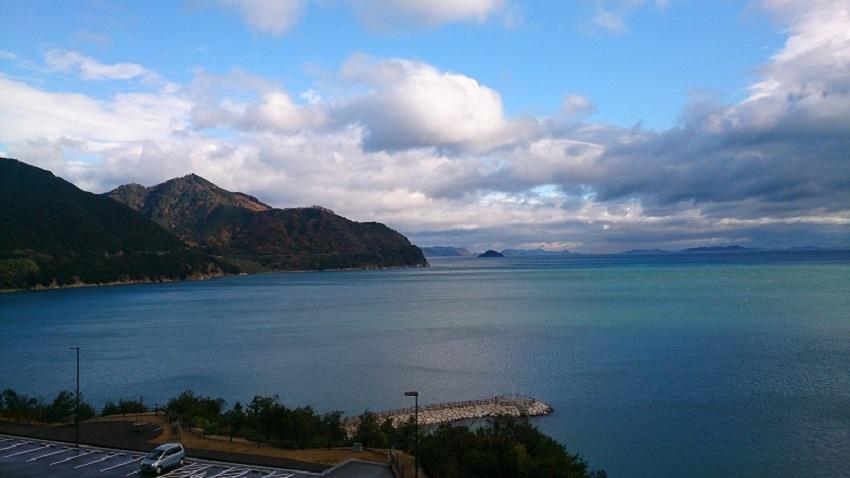 弓削島からの瀬戸内海の眺め3