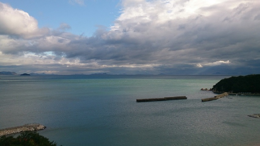 弓削島からの瀬戸内海の眺め2