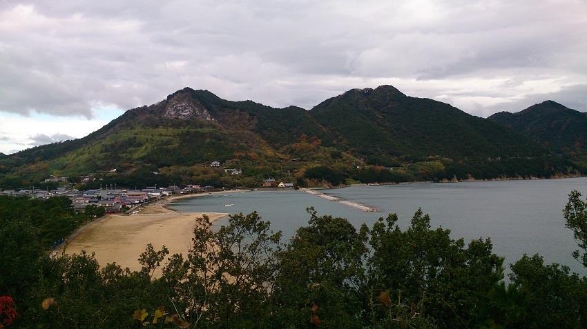 弓削島からの瀬戸内海の眺め1