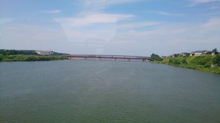 米代川鉄橋