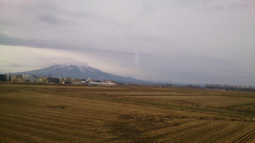 岩木山 冬