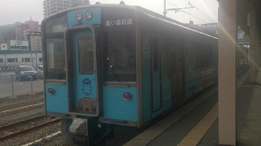 青い森鉄道 青森駅ホーム