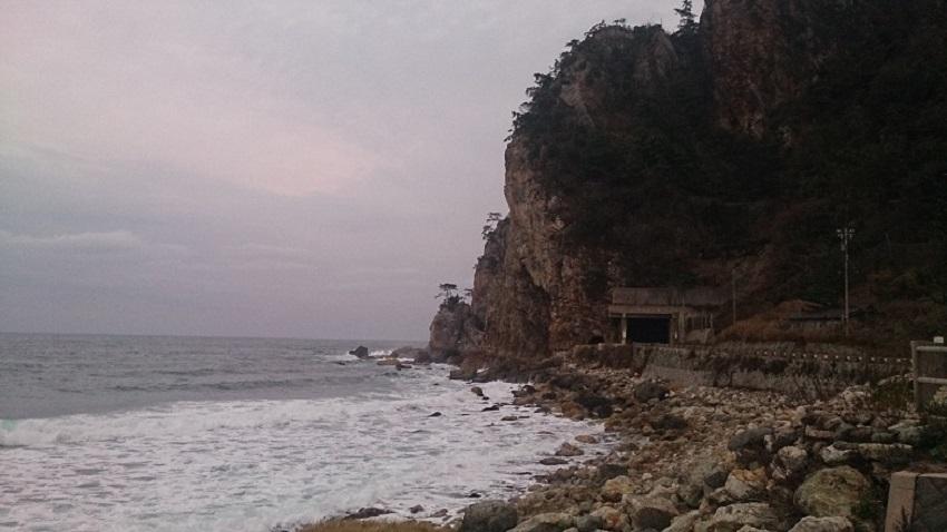 曽々木海岸 曽々木トンネル
