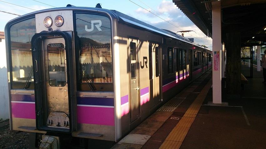 JR田沢湖線 普通列車