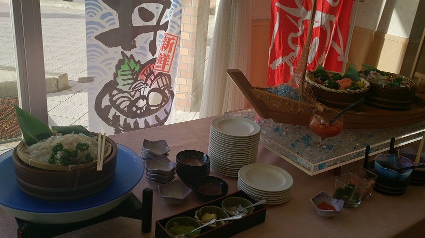 ホテル惠風 朝食バイキング