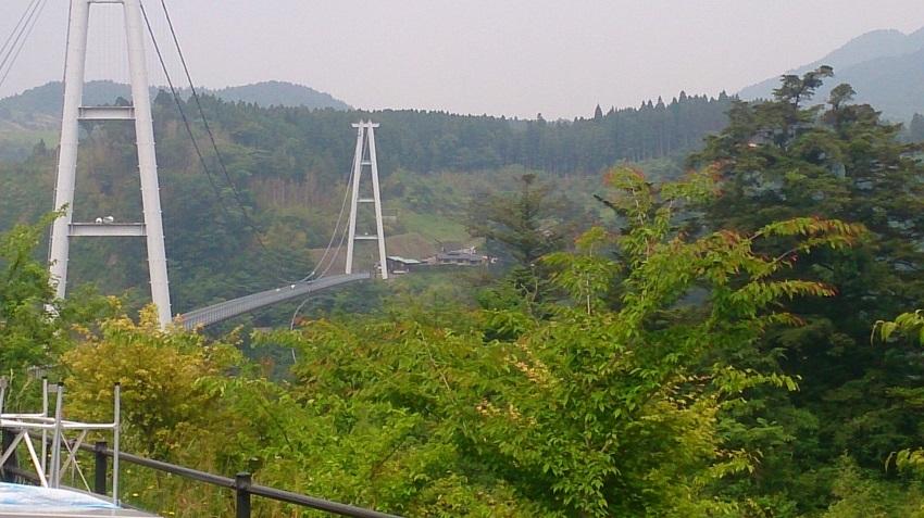 九重夢大吊橋 中村側3