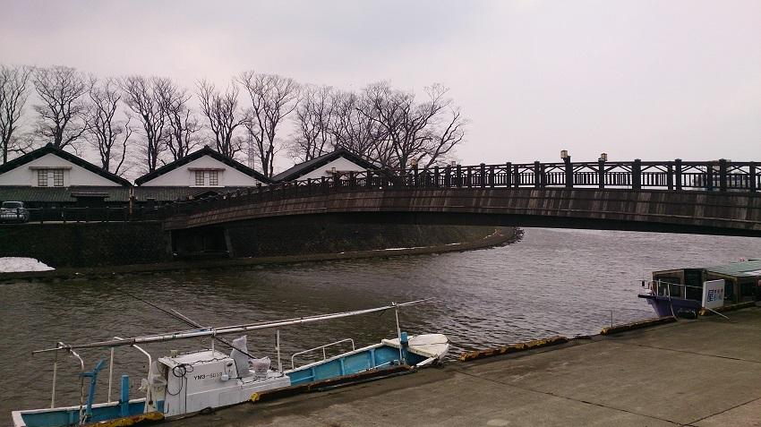 山居倉庫 橋