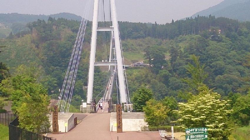 九重夢大吊橋 中村ゲート