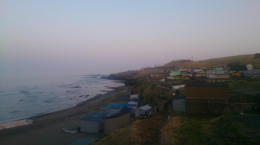 襟裳岬 集落