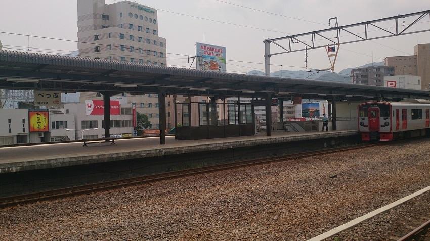 別府駅ホーム