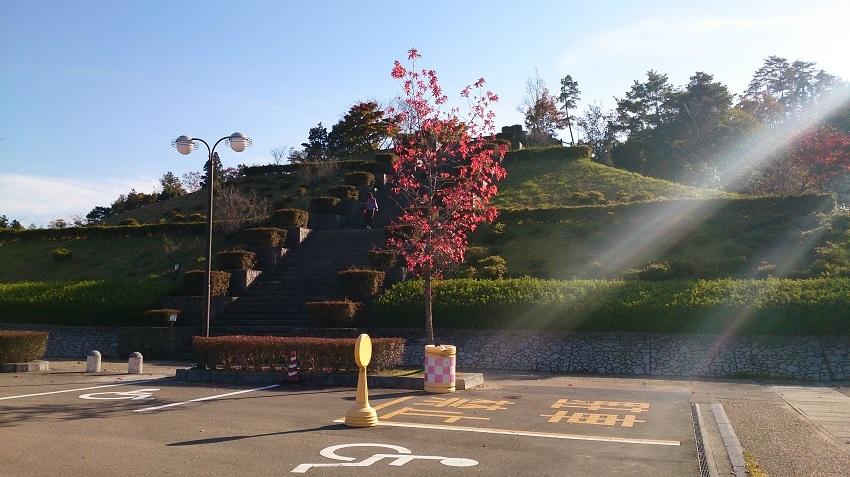 石見銀山世界遺産センター駐車場