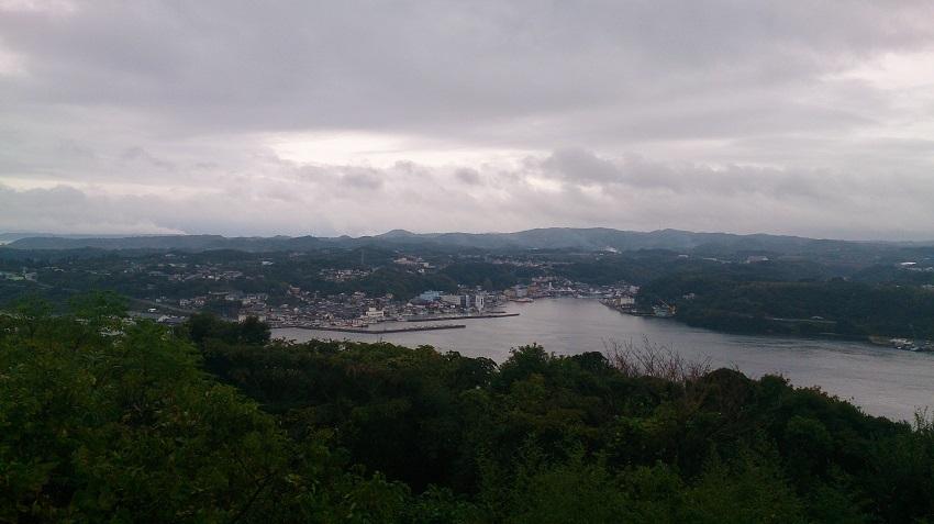 風の見える丘公園からの眺望
