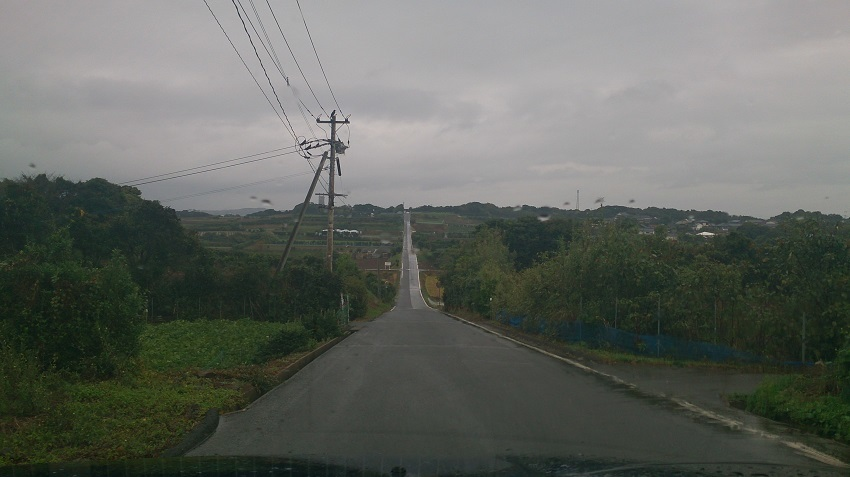 加部島 農道