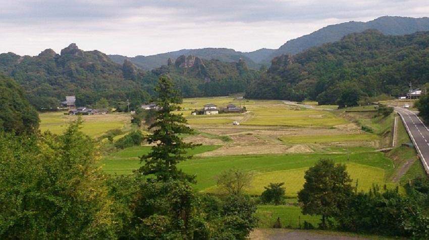 田染荘 展望台からの眺め2