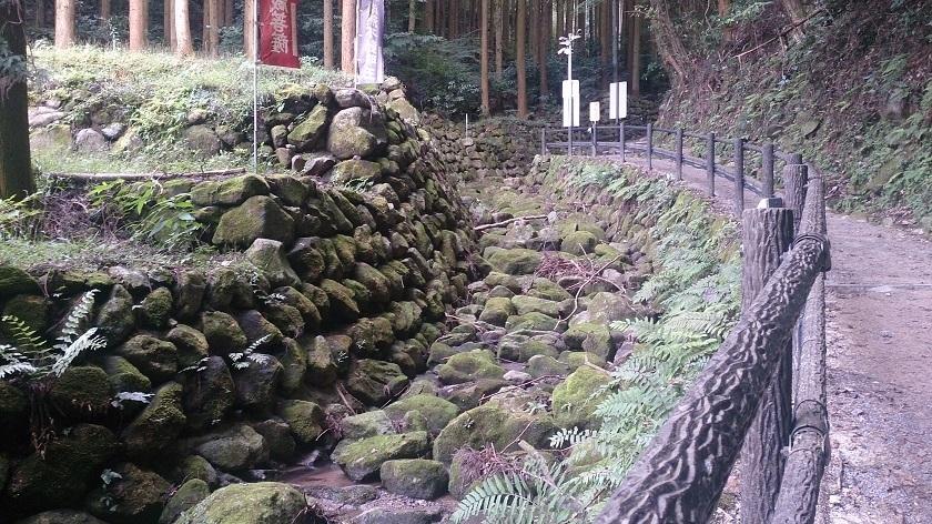 熊野摩崖仏 山道1