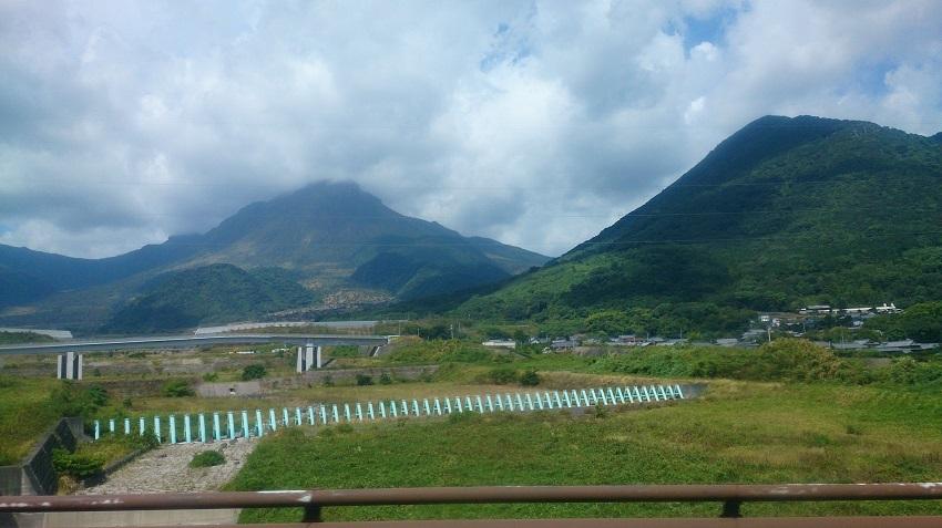 水無川と平成火山