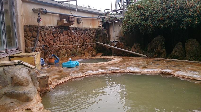 七里田温泉館 木之葉の湯 露天風呂