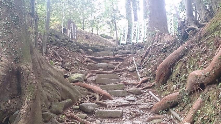 熊野本宮大社 裏参道