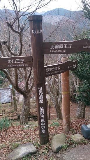 熊野古道 標識