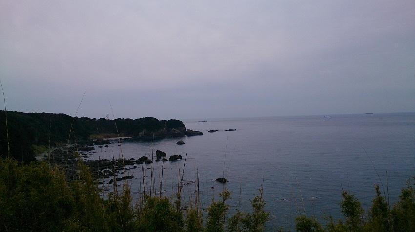 潮岬周遊道路からの景観