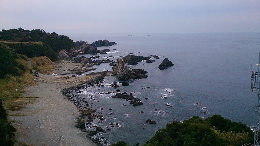 潮岬灯台からの眺望1