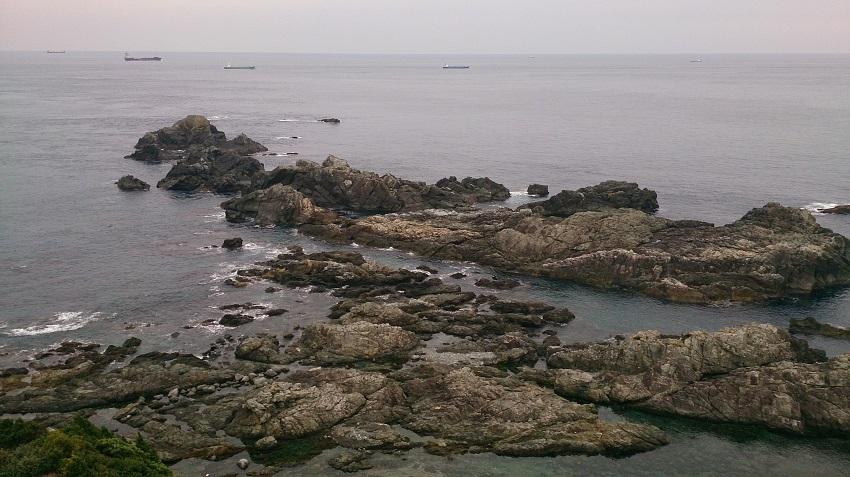 潮岬灯台からの眺望2