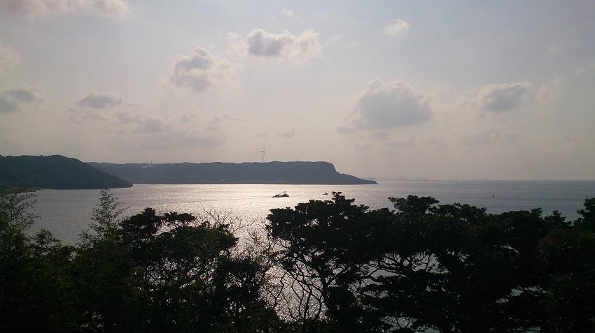 平戸公園からの眺め 五島灘