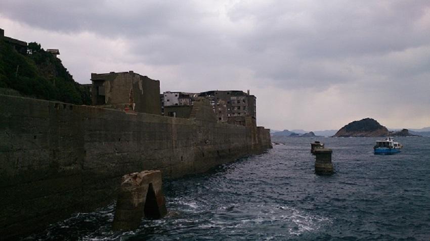 軍艦島 ドルフィン桟橋