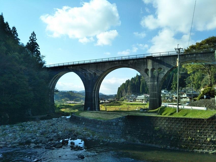旧宮原線 幸野川橋梁1