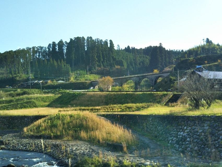 旧宮原線 北里橋梁1