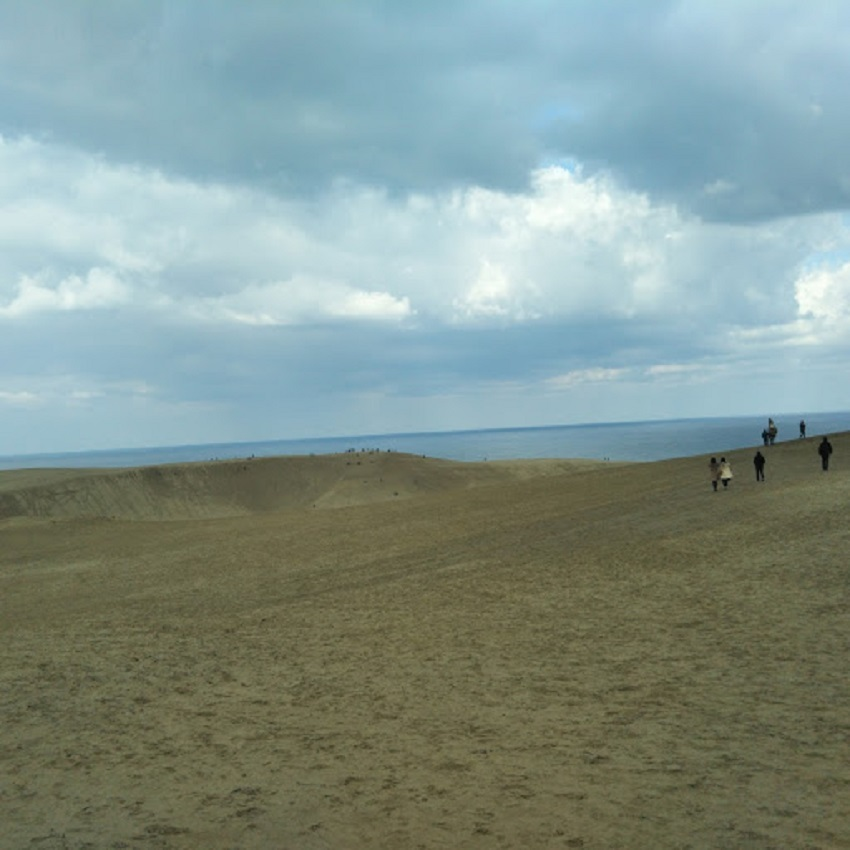 鳥取砂丘 下から