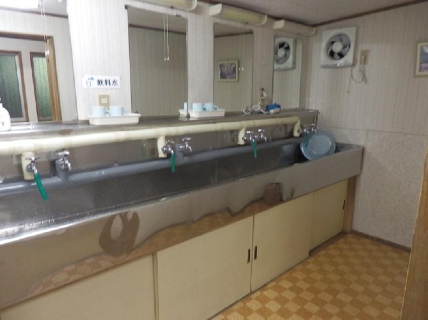 菊水館 共同洗面室