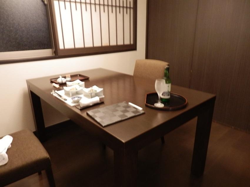 旅亭松葉屋 食事処 個室テーブル