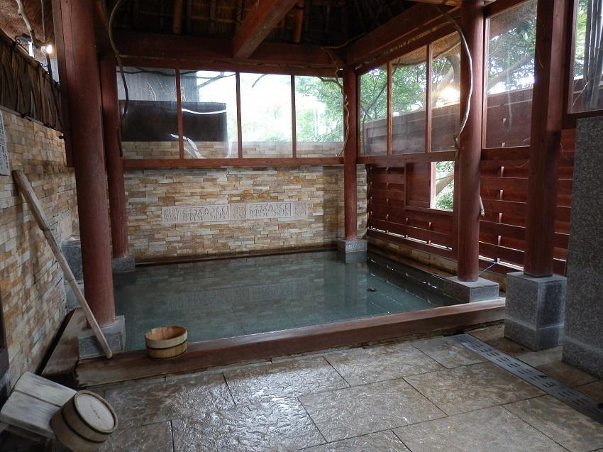 旅亭松葉屋 貸切風呂 無垢の湯
