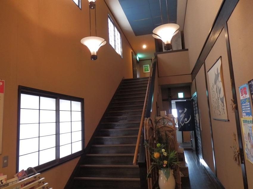 旅亭松葉屋 本館階段