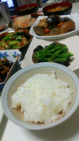 伊賀米で夕食