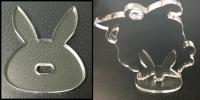 ウサギ型台座サンプル