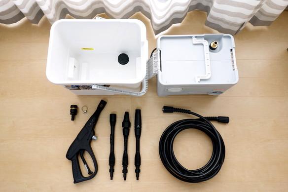 アイリスオーヤマ・高圧洗浄機①