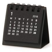 再生紙デスクトップミニカレンダー・2018年 17年12月~18年12月①