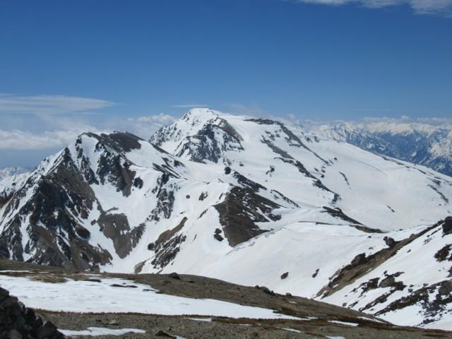 5月5日 杓子岳と白馬鑓ヶ岳