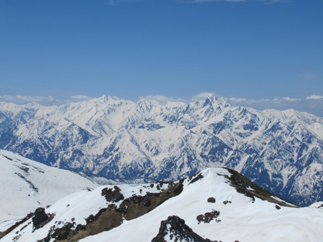 5月5日 立山,別山,剱岳