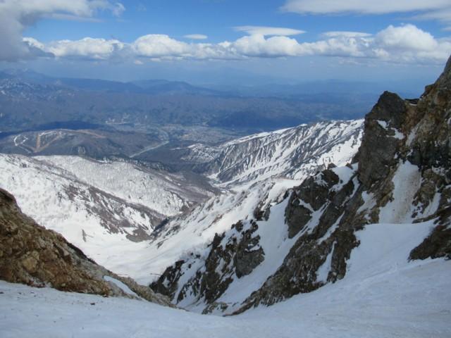 5月5日 デロデロ雪崩通過待ち