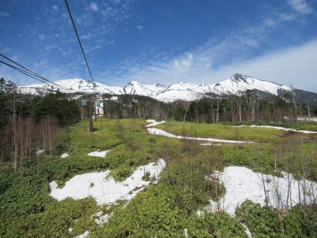 5月7日 コースはもう雪無し