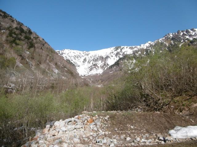5月20日 最初は雪無し