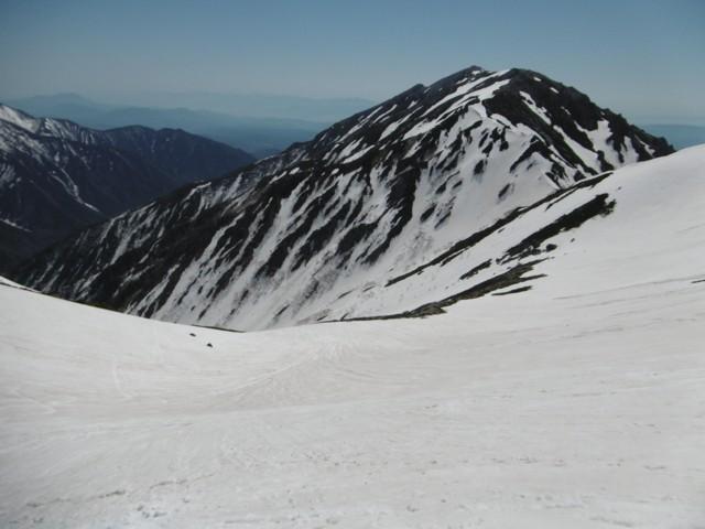 5月20日 マヤクボ沢から蓮華岳