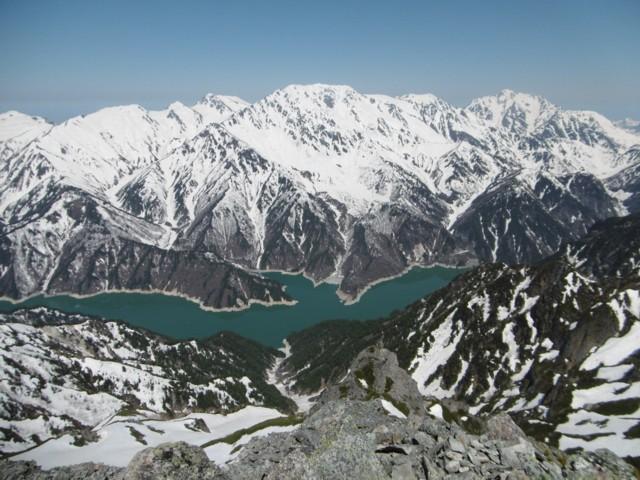 5月20日 黒部ダムの向こうは立山