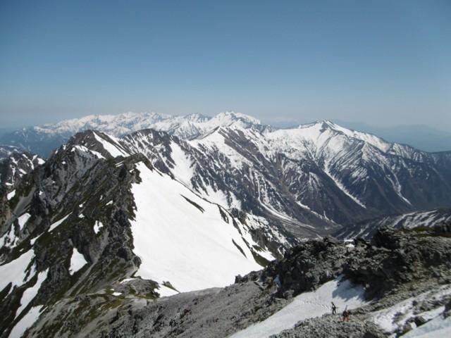 5月20日 北側の稜線